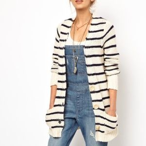 Free People Beach Slouchy Oversized Cardigan